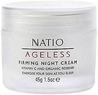 永遠ファーミングナイトクリーム(45グラム) x4 - Natio Ageless Firming Night Cream (45G) (Pack of 4) [並行輸入品]