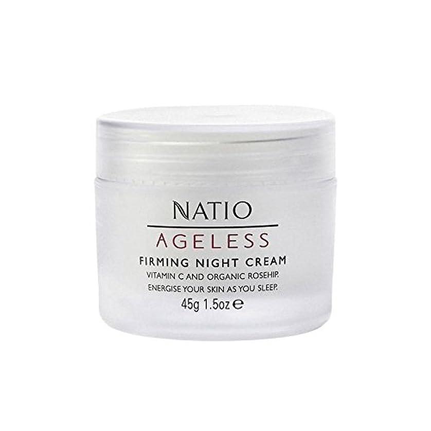 干し草染色ドループNatio Ageless Firming Night Cream (45G) (Pack of 6) - 永遠ファーミングナイトクリーム(45グラム) x6 [並行輸入品]