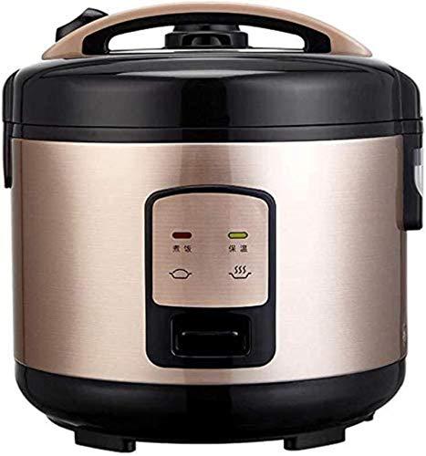 Cocina de arroz, función de aislamiento de bandeja antiadherente para el hogar con vaporizador El grano está lleno y sabe más fragante 3L (clase de energía A)