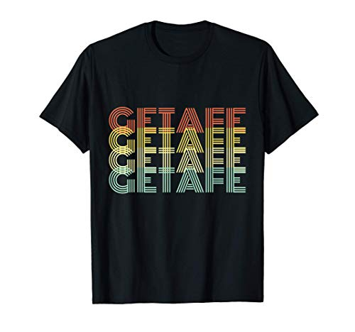 Getafe Retro Inicio Vintage Ciudad Natal Camiseta