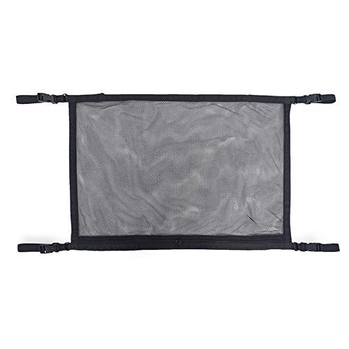 Organizadores de Automóviles Universal Colgante Asiento Atrás Protector Patada Mat Travel Storage Bags Organizer Multi Bolsets (Color : Black, Size : One Size)