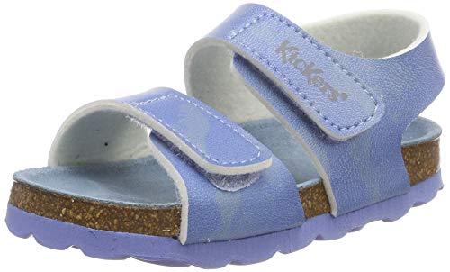 Kickers Unisex Baby Summerkro Sandalen, Blau (Bleu Camouflage 53), 21 EU