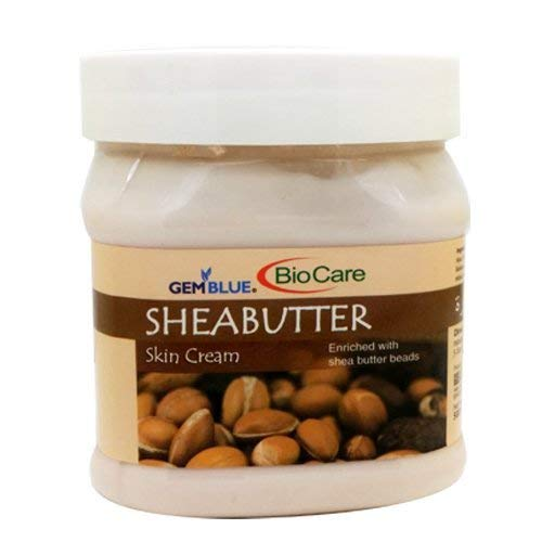 Biocare GemBlue Shea Butter Skin Cream, 500ml