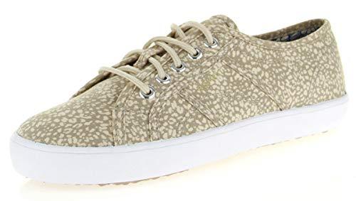 ESPRIT Damen Italia Lace Up Sneakers, Beige (290 Light beige), 42 EU