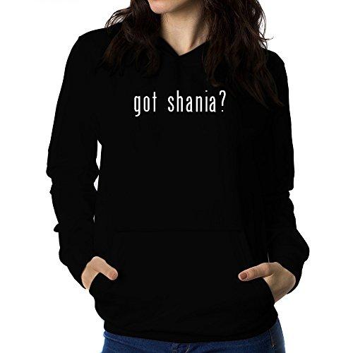 Teeburon Got Shania? Sudadera con Capucha para Mujer