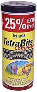 Tetra Bits Complete Fish Food for Health, Colour and Growth with Extra, Yellow, 300 g