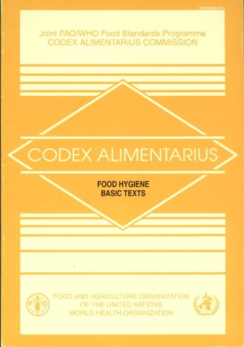 Codex Alimentarius Food Hygiene Basic Texts