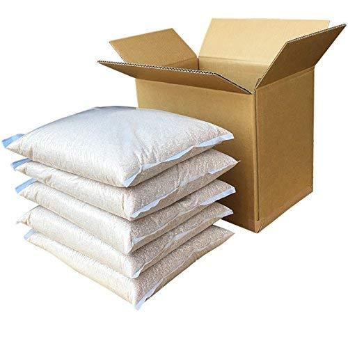新潟県産 ミルキークイーン 玄米 25kg (5kg×5 袋) 令和元年産 異物除去調整済