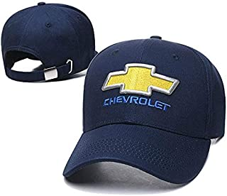 SO Yoursport Car Logo Embroidered Baseball Cap Unisex Adjustable Hat Travel Cap for Man,Women - Fit Chevrolet Accessories