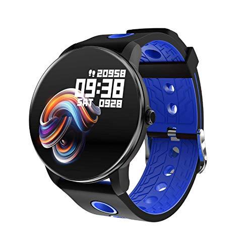 OH Smart Watch, Pantalla de Color Completo de 1.3 Pulgadas, Monitoreo Del Sueño, Pulsera Deportiva de Bluetooth Impermeable a Impermeables de Varios Idiomas, para Android Y Ios. Reg