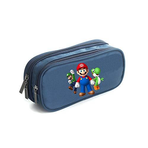 Super Mario Estuche Lápices Impreso Bolsa lápiz