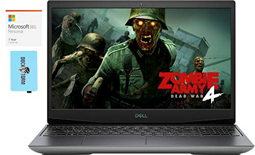 Dell G5 5505 Gaming and Business Laptop (AMD Ryzen 7 4800H 8-Core, 16GB RAM, 2TB PCIe SSD, AMD Radeon RX 5600M, 15.6' Full HD (1920x1080), WiFi, Win 10 Home) with Microsoft 365 Personal, Hub