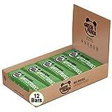 Barritas veganas, Snack Paleo vegano puro y con ingredientes orgánicos. Barritas energéticas 12x30 en una caja sabor'Strudel de manzana' de Green Panda