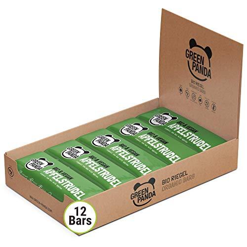 Vegane Riegel, Bio Riegel ohne Zucker rein vegan, raw und mit biologischen Zutaten, 12 x 30 g Paleo Riegel