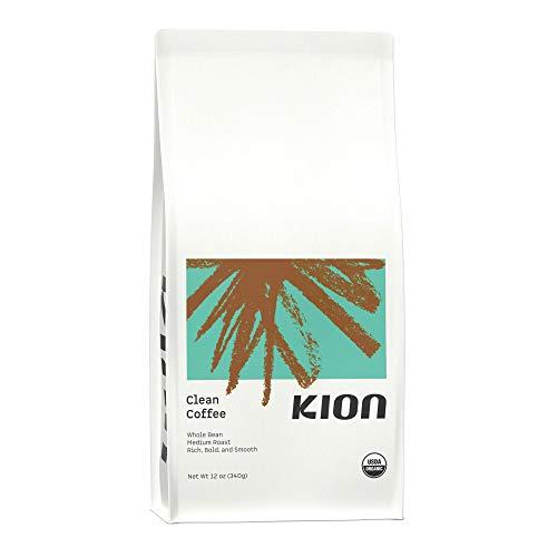 Kion Organic Coffee | Toxin and Mold Free | Roasted to Maximize Health and Taste | Medium Roast 12 Oz (1 Pack)