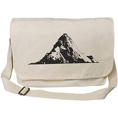 Azeeda 'Mount Everest Peak' Cotton Canvas Messenger Bag (MS00032705)
