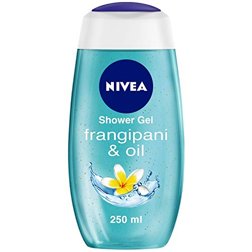 NIVEA Shower Gel, Frangipani & Oil Body Wash, Women, 250ml