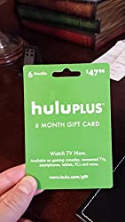Hulu Plus 6-Month Gift Card