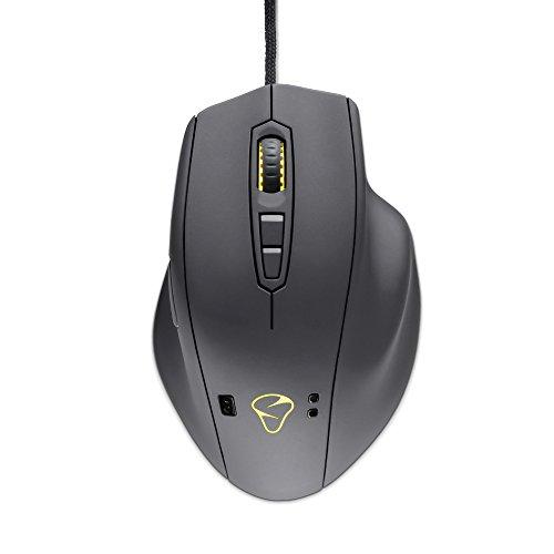Mouse Mionix Naos-Qg, colore grigio