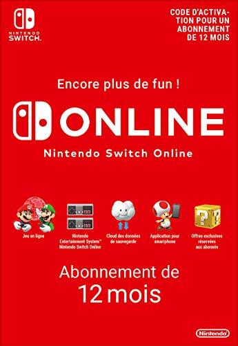 Nintendo Switch Online - Abonnement 12 Mois | Code de téléchargement (Switch)