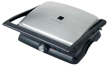 Dalkyo Plancha GRILL 180º Y SANDWICHERA PRESS 2000W Negro