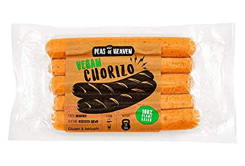 Peas of Heaven Chorizo Salchicha Vegana 250g| Sin Gluten | Sin Soja