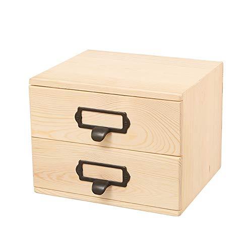 Huile Essentielle Boîte de Rangement 2 Couches Organisateurs De l'huile De Boîte D'huile De Bois Durable De Cas Parfait Boîte aromathérapie Stockage (Color : Natural, Size : 23.5X19.5X17.5CM)