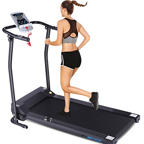 ANCHEER Folding Treadmill with LCD Monitor Now $239.99 (Was $624.99)