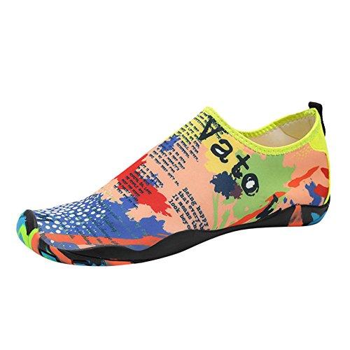 FRAUIT Badschoenen dames heren zwemschoenen kinderen surfschoenen blote voeten schoenen waterschoenen strandschoenen snorkelen sokken yoga waterschoenen antislip neopreen schoenen