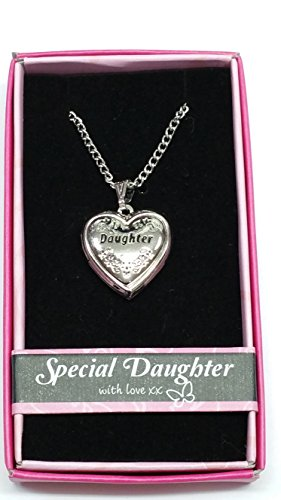 Daughter Love Locket Gift Boxed Pendant, Birthday, Christmas, Any Occasion Gift