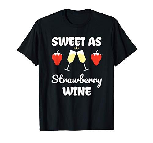 Vino Fragola Chardonnay Bianco Rosso Maglietta