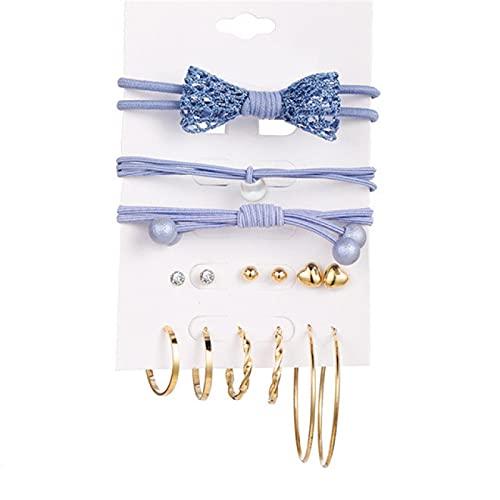 FEARRIN Pendientes Joyas Pendientes geométricos de Perlas para Mujeres Niñas Pendientes Colgantes Conjunto Declaración Mujer Joyas de Uso Diario 61845514