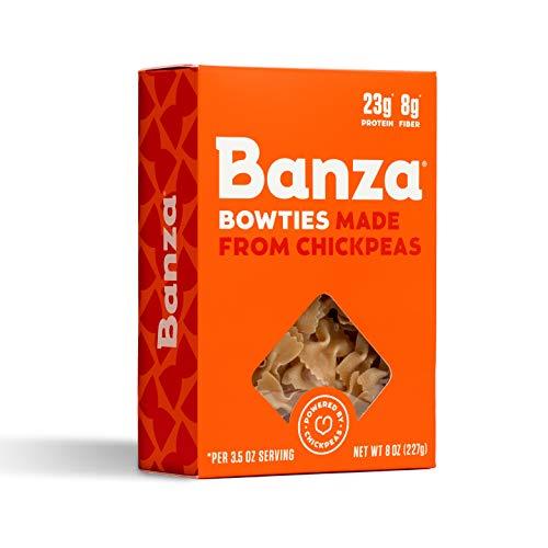 Banza, Pasta Chickpea Bowties, 8 Ounce