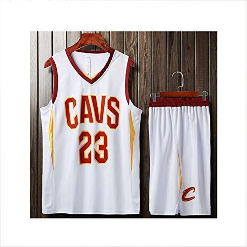Basketballkleidung Anzug, Herren einfache atmungsaktive Leere Trikot Training Laufweste ärmellose Erwachsenen Shirt Ball Anzug-2-XXL