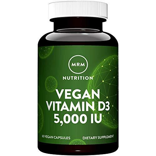 MRM Vegan Vitamin D3 – 5000 IU - 60 Capsules