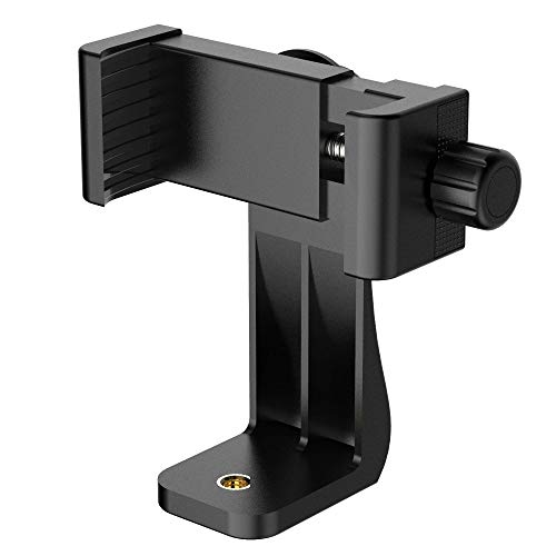 Puroma Universal Cell Phone Tripod Mount Adapter Smartphone Holder...