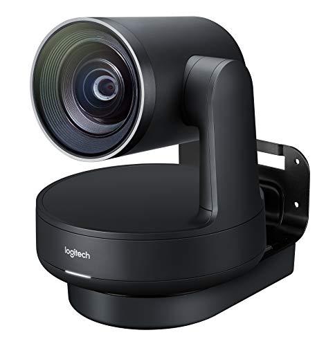 Logitech Rally Sistema de Video Conferencia Group Video conferencing System 10 Personas(s) Ethernet - Sistema de videoconferencia (4K Ultra HD, 15x, 720p,1080p,1440p, 60 pps, 4,5 m, -27 dB)
