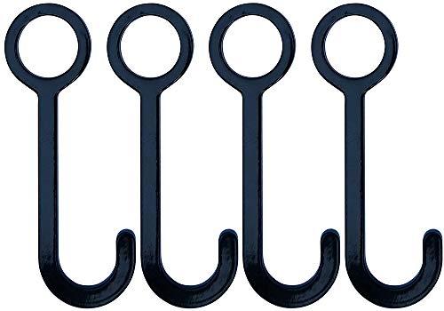 Fullbow Hang N Hook Kit de cible DIY - Crochet de suspension de tuyau pour tuyau de 2,5 cm, 4 Hooks