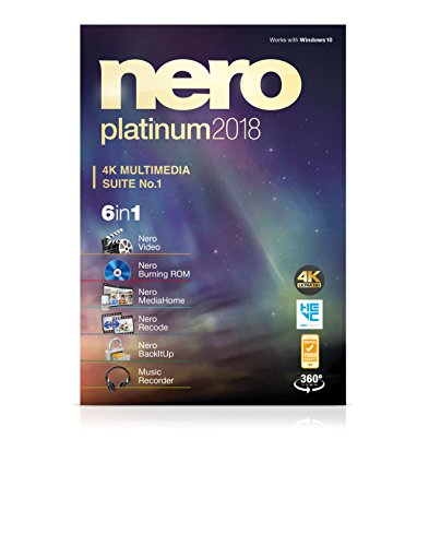 Nero Platinum 2018 (DVD Box)