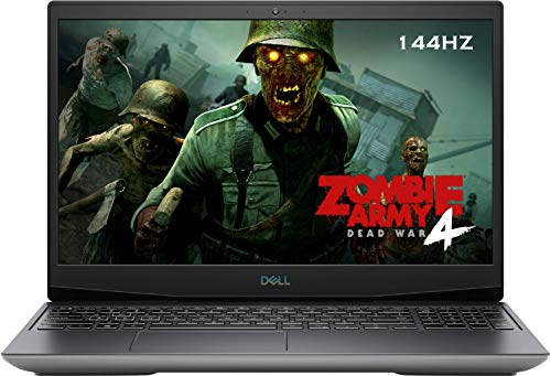 Dell G5 15.6' 144Hz FHD VR Ready Gaming Laptop, AMD Ryzen 7 4800H(Beat i7-10750H), RGB Backlit Keyboard, USB-C, HDMI, Wi-Fi 6, Nahimic 3D Audio, AMD Radeon RX 5600M, Win 10 H (32GB RAM|1TB PCIe SSD)