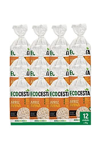 Ecocesta Mejor Cada Día Tortitas de Arroz y Avena Bio (12 x 115g) 1380 g