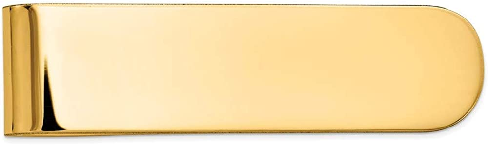 14k Yellow Gold Money Recommendation safety Men's Clip
