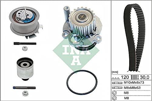 INA 530 0201 32 Bomba de agua + kit correa distribución