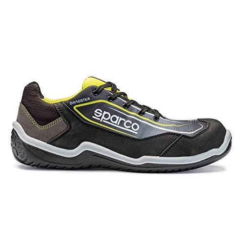 scarpe antinfortunistiche sparco uomo Scarpa Dragster S1P TG.41 Nr/GF