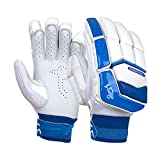 KOOKABURRA Batting Gloves 2020 Pace 3.4-Guantes de bateo (Ajustados para jóvenes), Blanco, Youth Left Hand