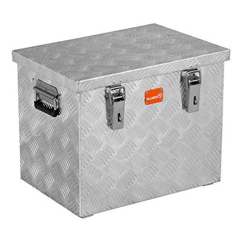 alubox R70 Aluminium Rifelblech Werkzeug Transportkiste 70 Liter