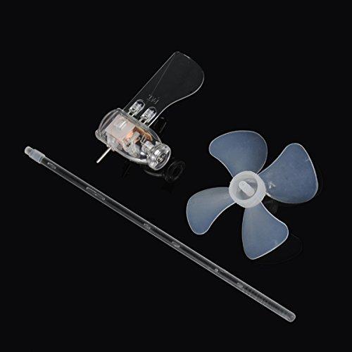 MASUNN Kleinste Mini Wind Turbines Generator Led Teaching Tools Sample Model