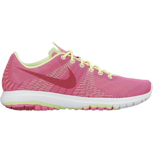 Nike Nike Damen Flex Element GS Footwear-Blue/weiß/orange, Größe 4,5, Damen, Pink/Lime/White, Size 4.5