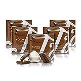 Tableta de Chocolate con Leche y Coco, 36% Cacao - 50 gr (Paquete de 5 Piezas)