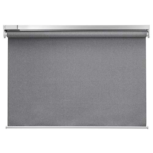 IKEA FYRTUR - Estor enrollable (80 x 195 cm), color gris